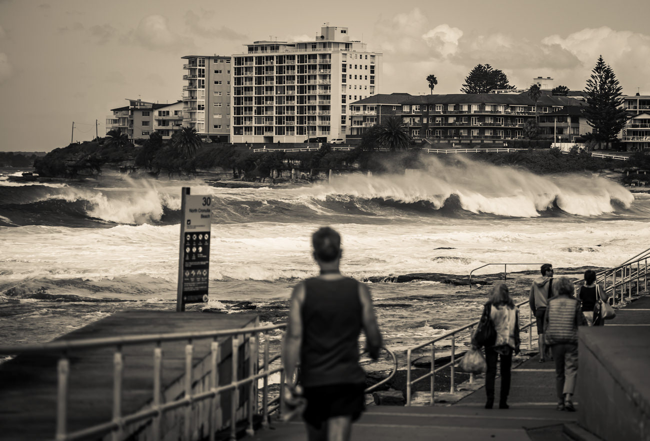 Big Surf at The Alley Cronulla Beach Sydney NSW